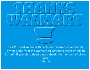 Thanks Walmart