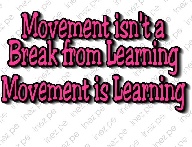 Movement isn't a
