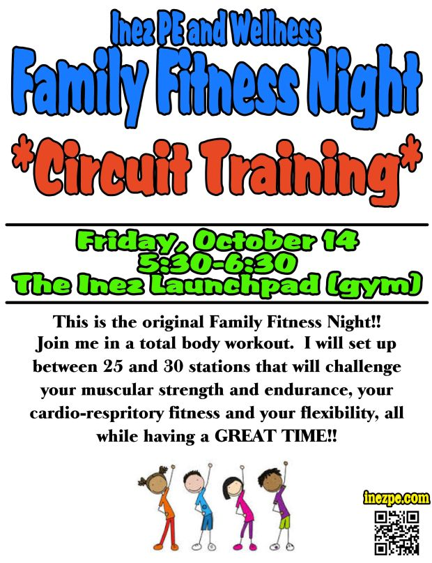 Family Fitness Night!!