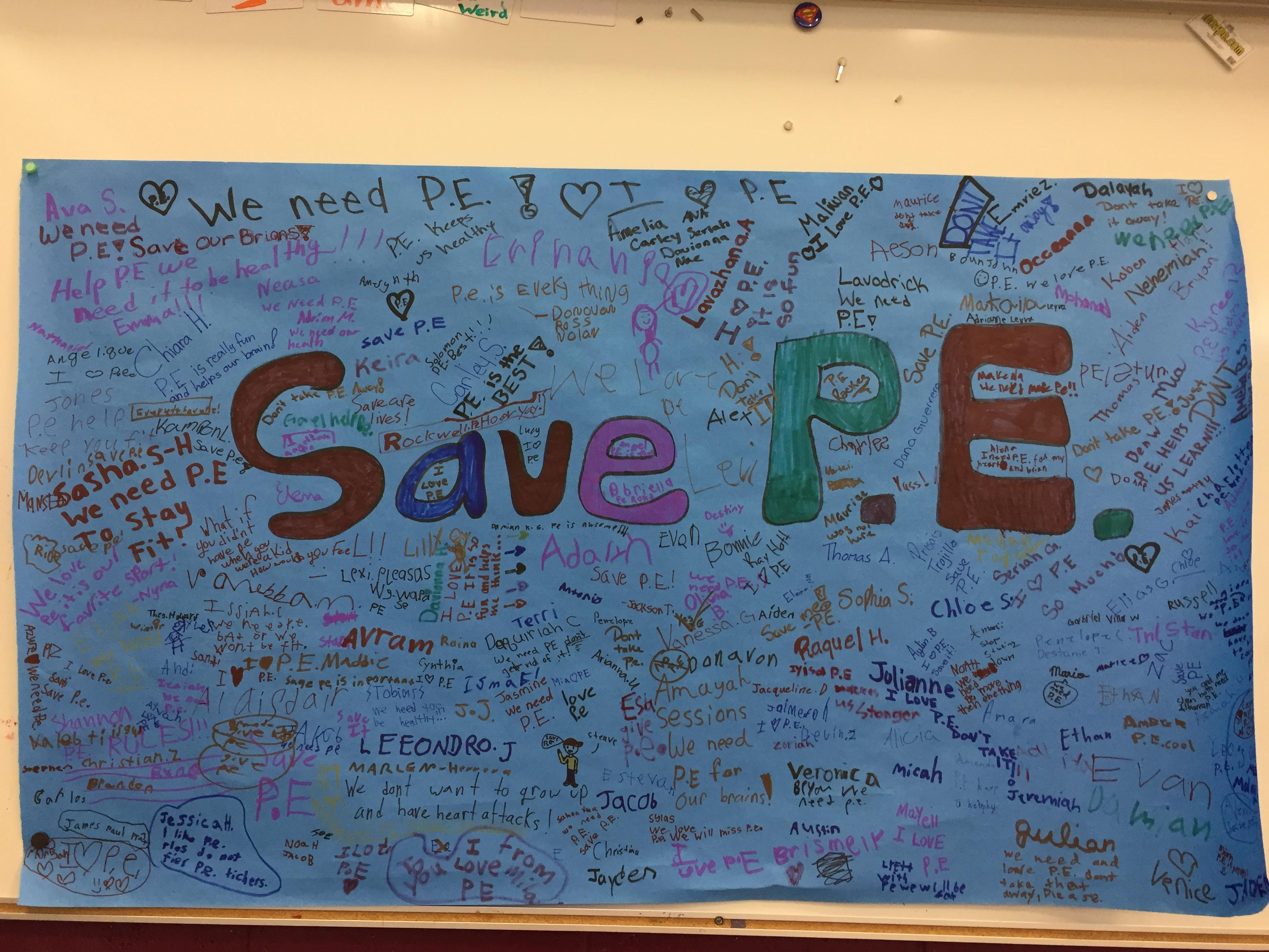 Save P.E.