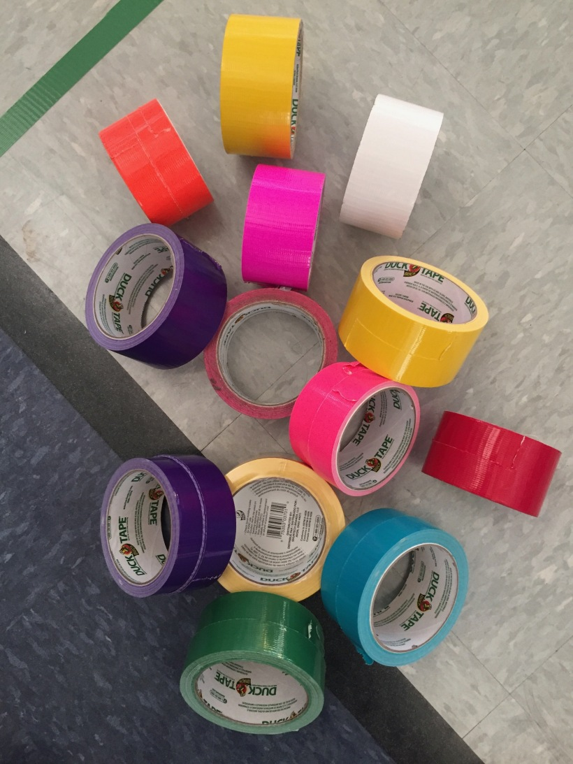 Picture has 16 rolls of duct tape of various colors!!