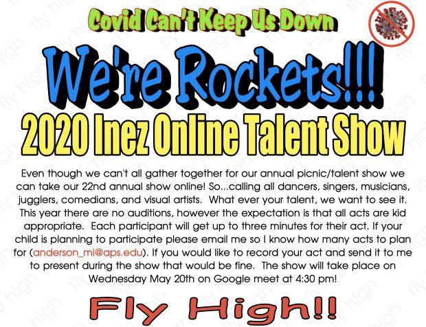 Online Talent Show!!